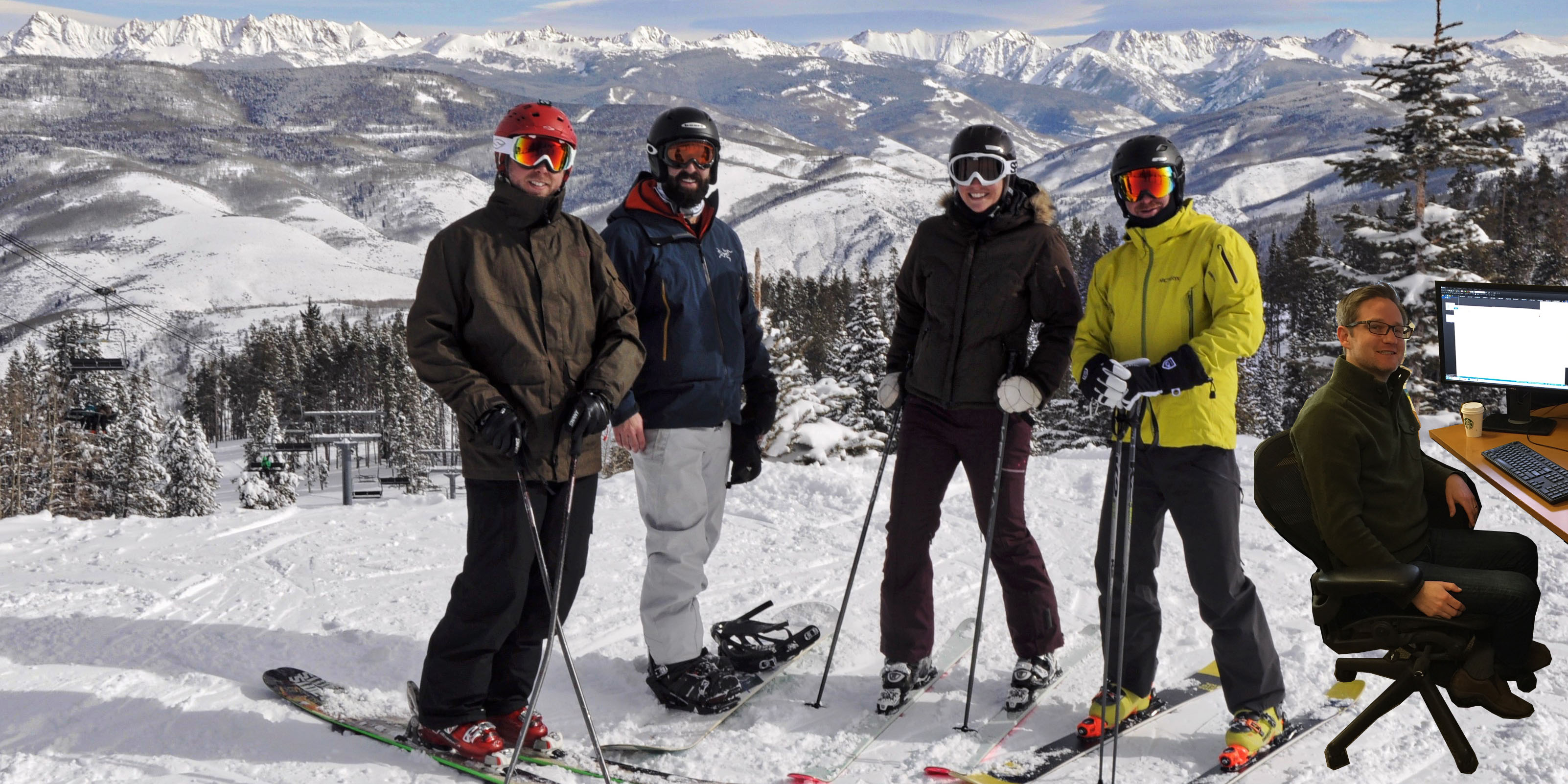 Clutch Ski Day at Beaver Creek