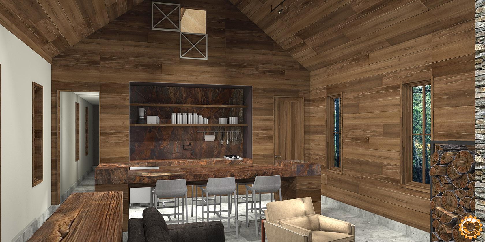 2016 0831 New Project – Hatchet Cabin