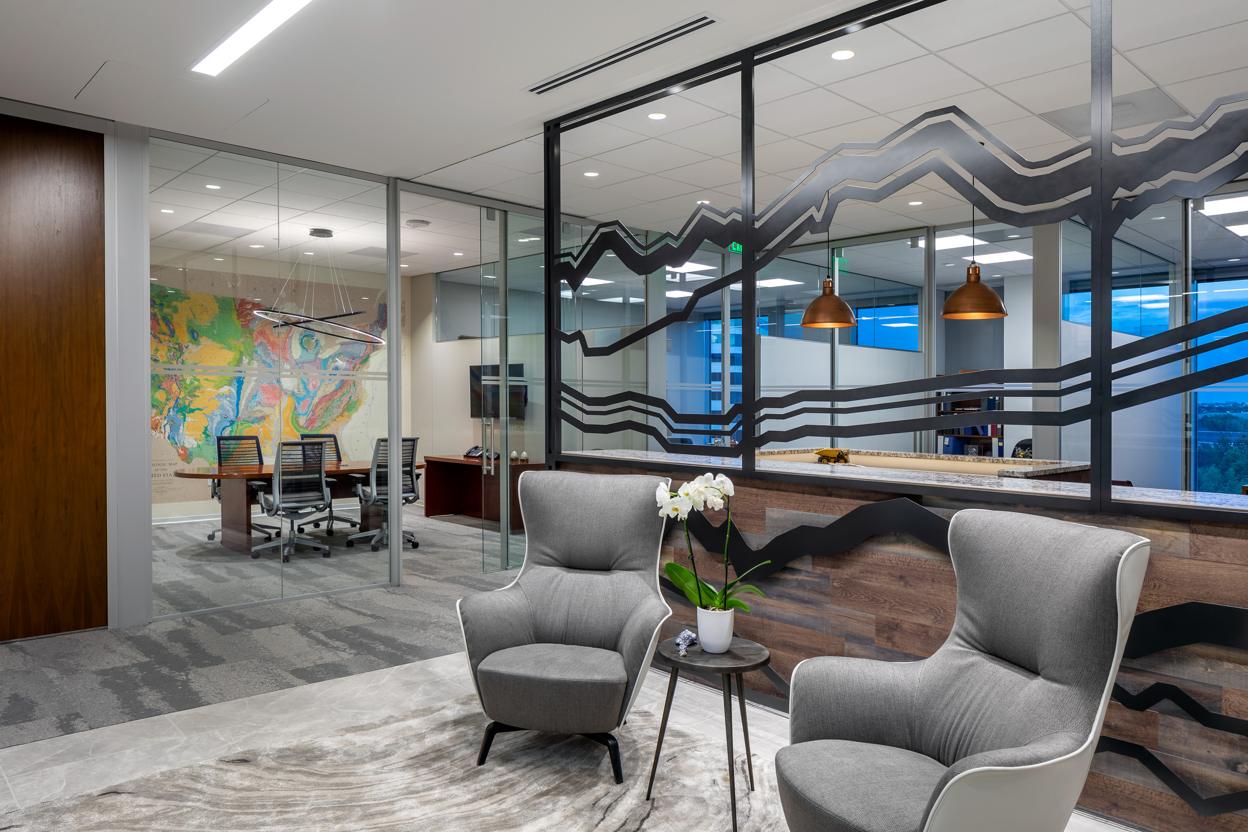 Inside our Latest 50Fifty DTC Office Buildout: FIOS CAPITAL and GALENA FOUNDATION