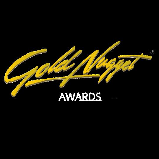 Gold Nugget Award Resized - White